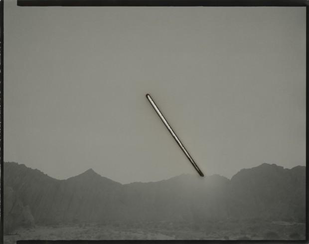Chris McCaw Sunburned GSP#1023 (Mojave), 2019 Unique silver gelatin paper negative 27.9 x 35.6 cm 11 x 14 in