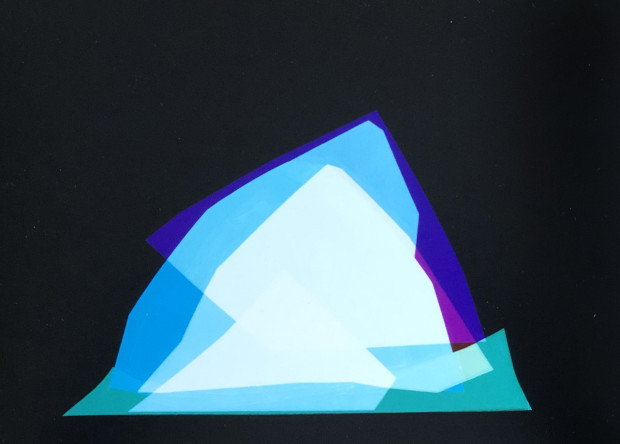 Liz Nielsen, Mountain Shapes II, 2019