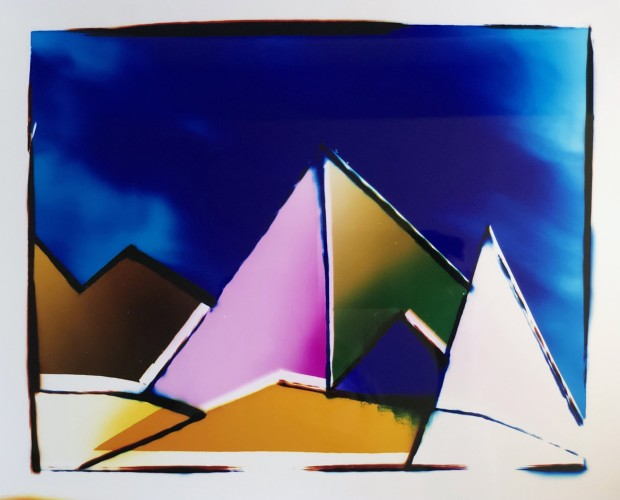Liz Nielsen, Stormy Mountain Shapes, 2019