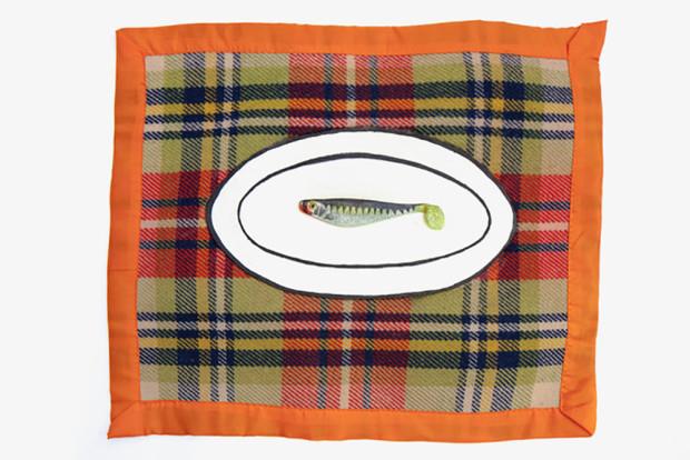 Feliciano CENTURIÓN, Sin título (Plato con pez) [Untitled (Dish with Fish)], 1993