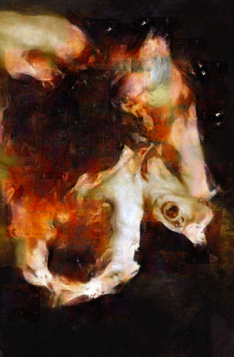 Correction of Rubens: Saturn Devouring His Son