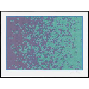 Variation der ART EX MACHINA Drucke