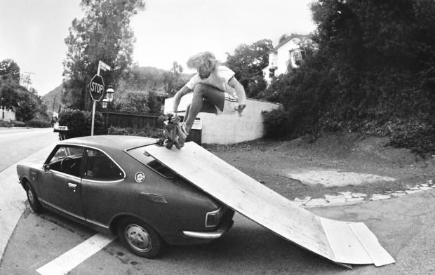 Hugh Holland, Auto-Ramp, Benedict Canyon, CA, 1976