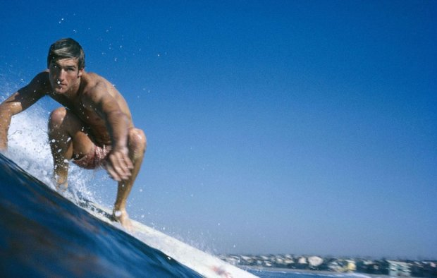 LeRoy Grannis, Kent Layton, Hermosa Beach, 1969