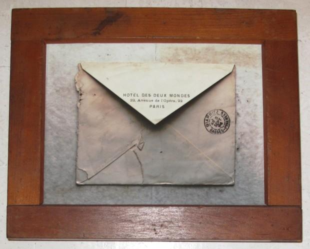 Andrew Bush, Envelope #841, 2007