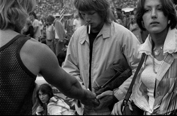 Joseph Szabo, Rolling Stones Fans No. 29, JFK Stadium, Philadelphia, 1978