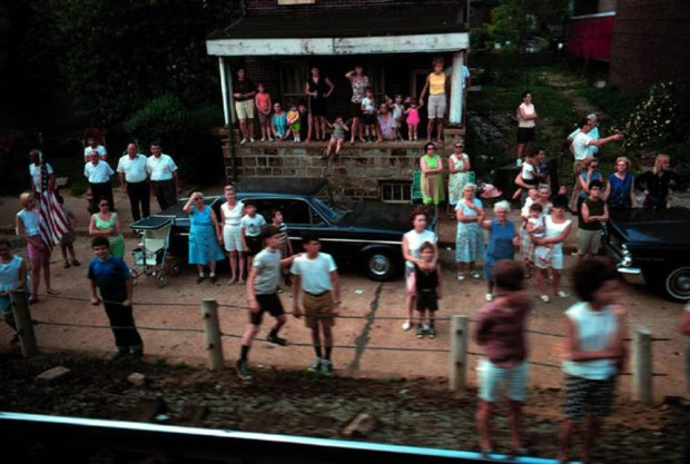 Paul Fusco, RFK Funeral Train #2392, 1968