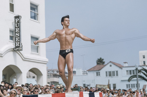 Bob Mizer, Untitled (Muscle Beach #30), Santa Monica, California, c. 1949