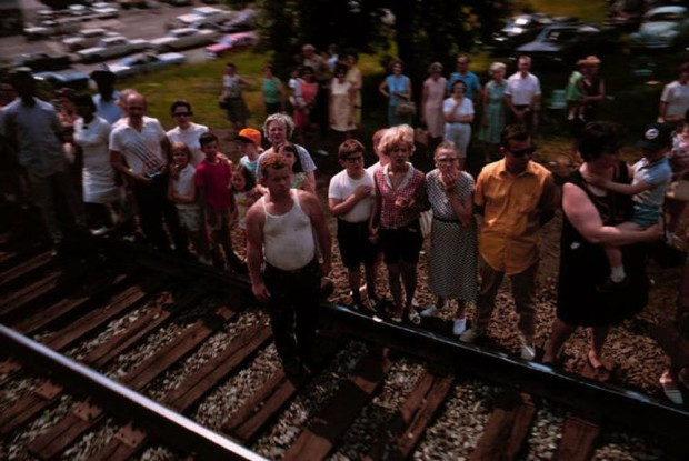 Paul Fusco, RFK Funeral Train #2380, 1968