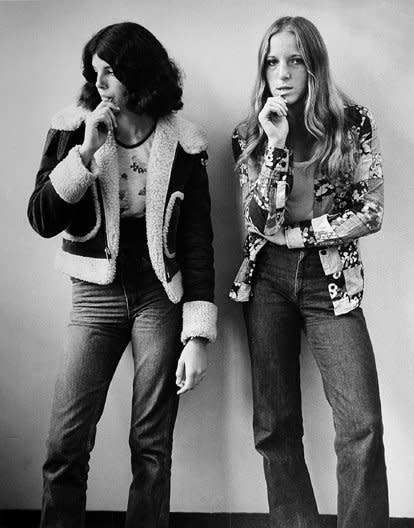 Joseph Szabo, Irene and Lena, 1975