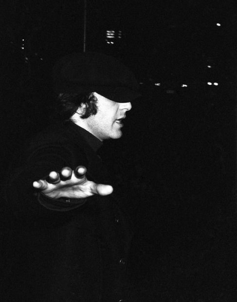 """Ron Galella, Al Pacino attends a book party for """"The Understudy"""" at the Lyceum Theater, New York, December 9, 1974"""