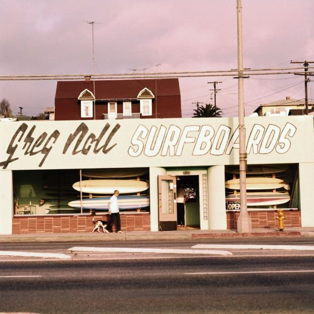 LeRoy Grannis, Greg Noll Surf Shop, Hermosa Beach, 1963