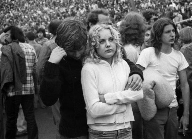 Joseph Szabo, Rolling Stones Fans No. 36, JFK Stadium, Philadelphia, 1978