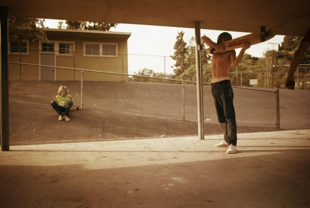 Hugh Holland, Skate Shooter, Kenter Canyon, 1976