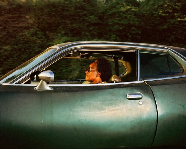 Andrew Bush, Person driving somewhere in the last decade of the previous millennium (whereabouts unknown), c. 1990s