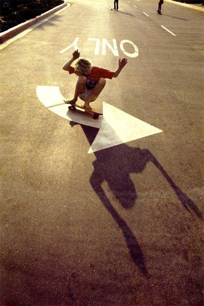 Hugh Holland, Left Turn Only, Orange County (No. 58), 1975