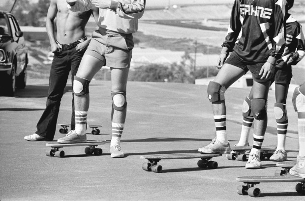 Hugh Holland, Team Sideline, San Diego, CA, 1976