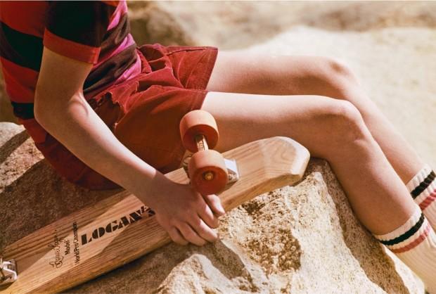 Hugh Holland, Red Skater at Rest, 1975