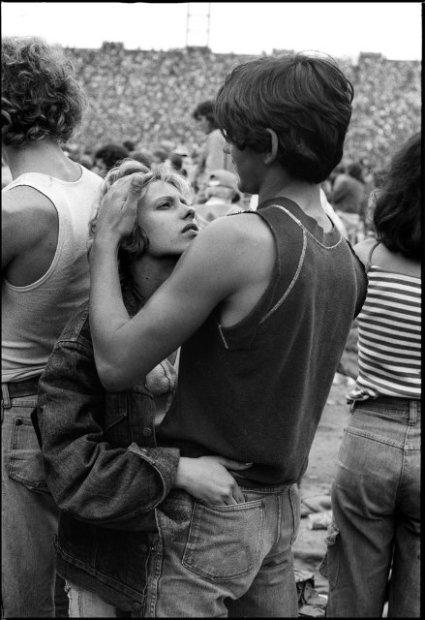 Joseph Szabo, Rolling Stones Fans No. 16, JFK Stadium, Philadelphia, 1978