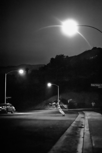 Hugh Holland, Deep Canyon Drive, Beverly Glen, Los Angeles, CA, 1976