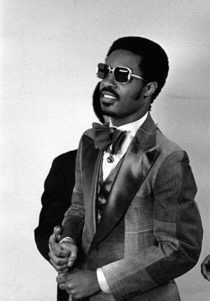 Ron Galella, Stevie Wonder at the Grammy Awards, Uris Theater, New York, March 1, 1975