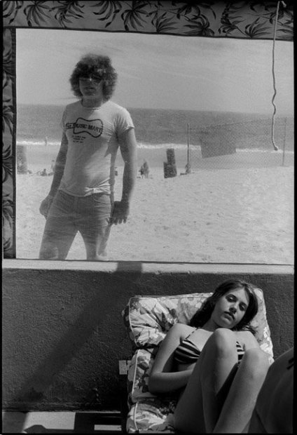 Joseph Szabo, Chris At Hot Dog Beach, 1977