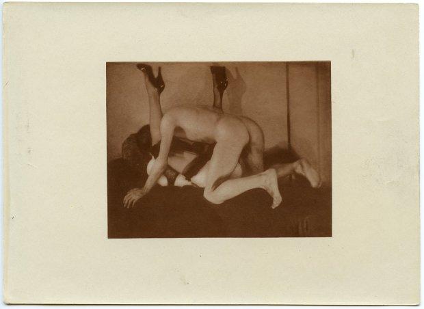 Pierre Molinier, Double autoportrait, c. 1955
