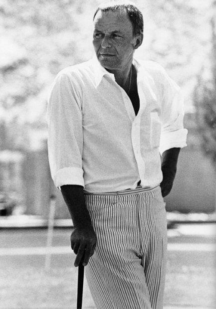 Ron Galella, Frank Sinatra, Palm Springs, April 19, 1969