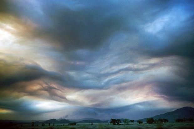 Ernst Haas, Nevada Sky, 1960