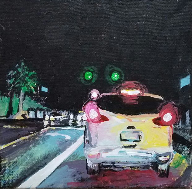 E. Tilly Strauss, Red lights, Green Light, 2017