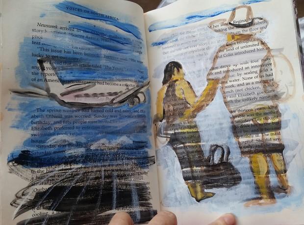 E. Tilly Strauss, Travelors sketch, 2016