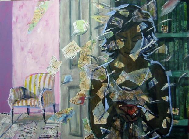 E. Tilly Strauss, Vanishing woman, 2009