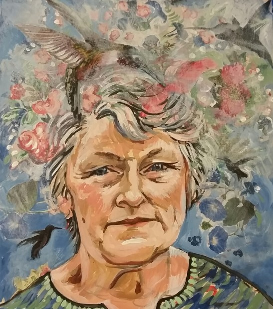 E. Tilly Strauss, Hummingbird Lady, 2016