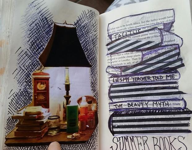 E. Tilly Strauss, Book list sketch, 2016