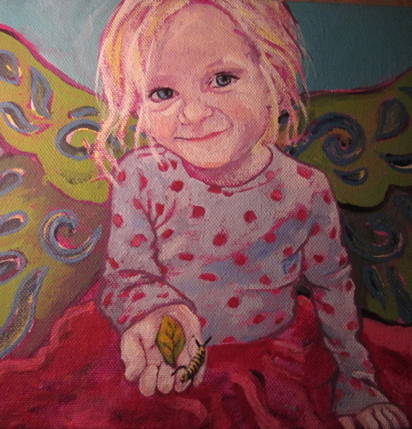 E. Tilly Strauss, Little Sophia, 2014