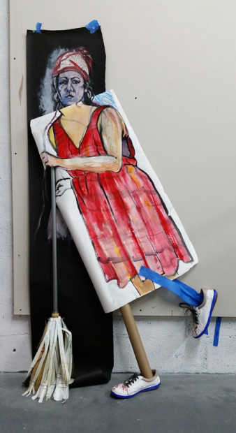 E. Tilly Strauss, Sweeper, 2015