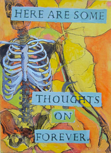 E. Tilly Strauss, Thoughts on Forever, 2011