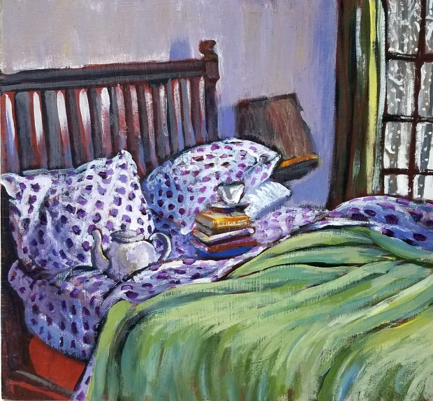 E. Tilly Strauss, Polka Dot Sheets, 2011