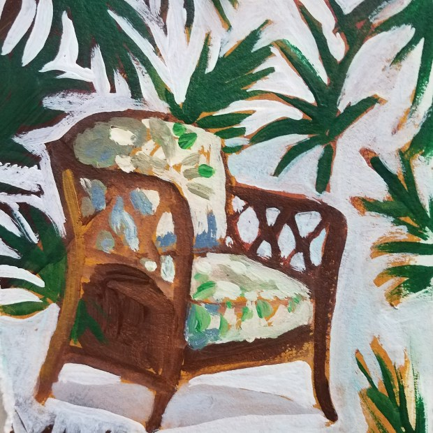 E. Tilly Strauss, The Florida Room Chair, 2018