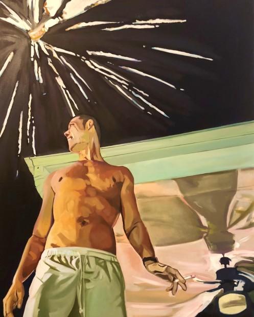 Rajab Ali Sayed, I Saw Sparks, 2016