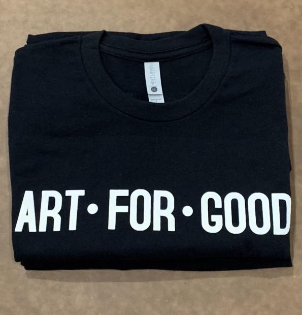 Art For Good T-shirt, Black