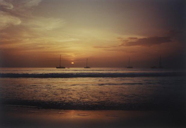 Lionel Gasperini, Sunset with Boat Kata Noi, 2012