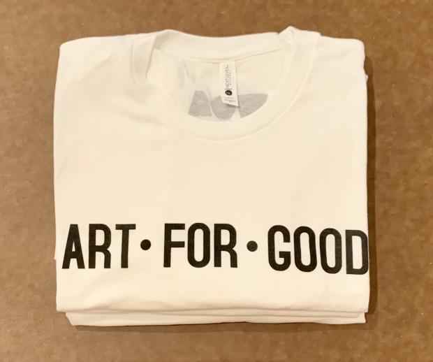 Art For Good T-shirt, White