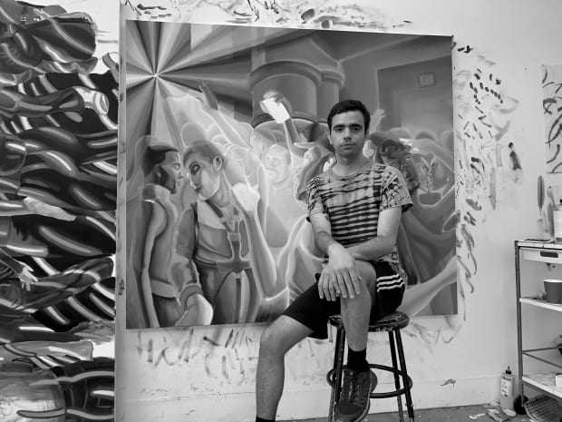 Bartolacci's artwork draws from personal experiences of queer nightlife in New York City. Common themes in his practise include desire,...