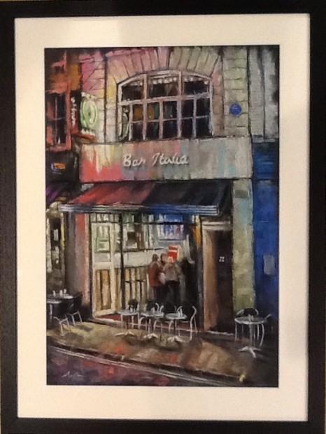 Marc Gooderham, Bar Italia - Pastel, 2018