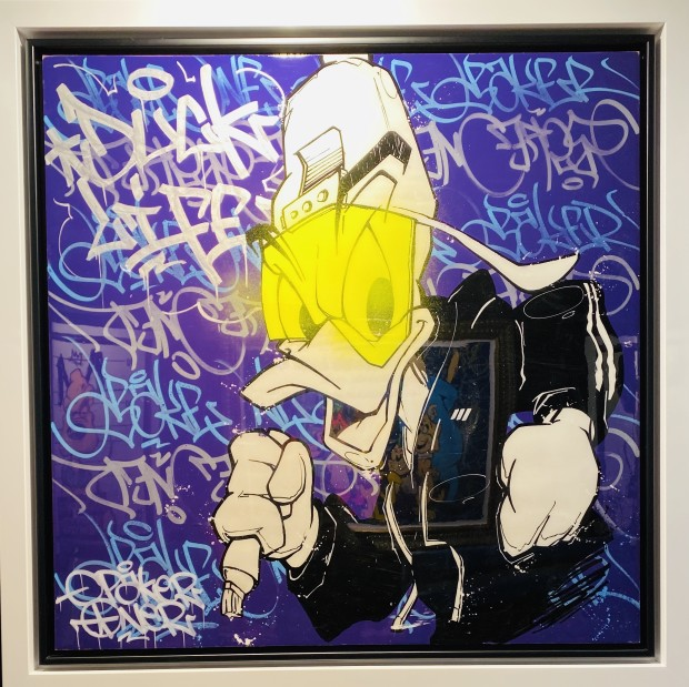 Opake One, Graff Duck, 2019