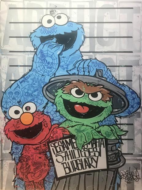 Opake One, Sesame Street Mafia, 2021
