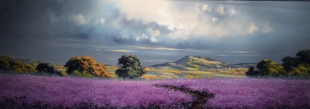 Allan Morgan, Lavender Walk, 2018