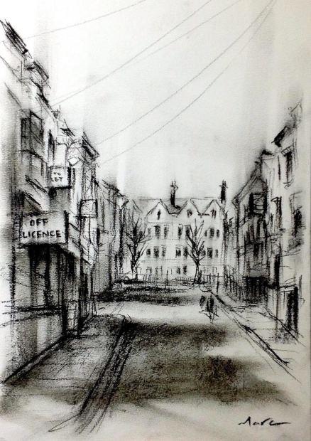 Marc Gooderham, Backstreets Of Brighton, 2021