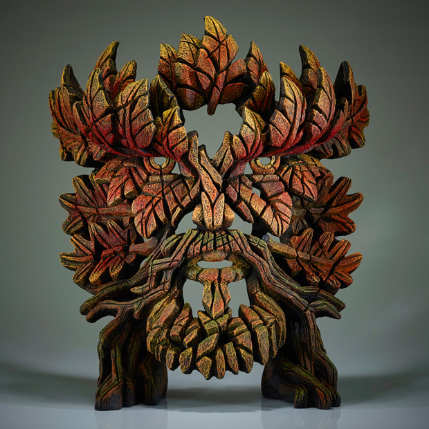 Matt Buckley, Green Man Bust (Autumn Flame)